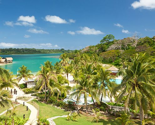 Holiday Inn Resort, Vanuatu - Aerial View