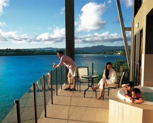 Iririki Resort - Deluxe Ocean View Rooms - Vanuatu Resorts