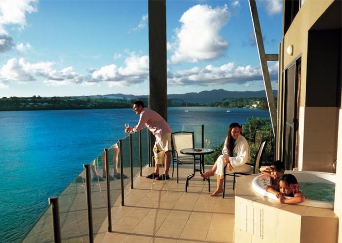 Iririki Resort - Deluxe Ocean View Rooms - Vanuatu Resorts