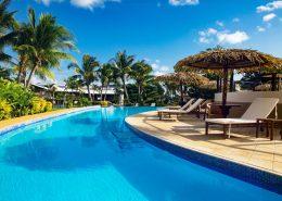 Iririki Island Resort Vanuatu - Sunset Pool