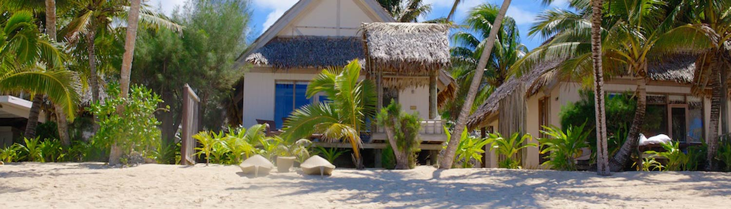 Little Polynesian Resort Cook Islands - Are Exterior