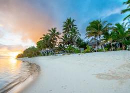 Little Polynesian Resort Cook Islands - Beach Sunset