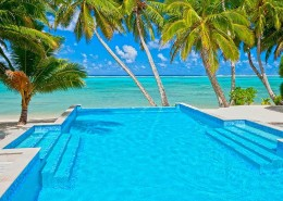 Little Polynesian Resort Cook Islands - Resort Pool