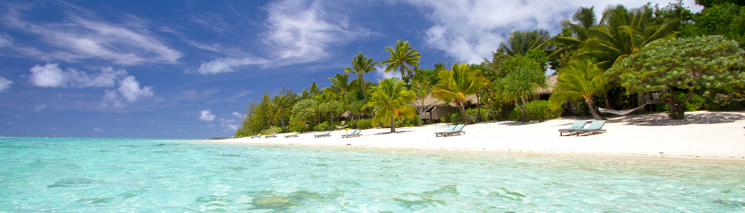 Pacific Resort Aitutaki Cook Islands - Beachfront