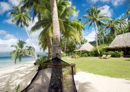 Qamea Resort & Spa Fiji - Hammock on the Beach