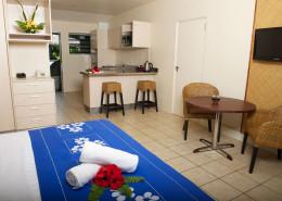 Sunset Resort Cook Islands - Beachfront Kitchen