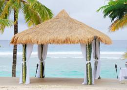 Sunset Resort Cook Islands - Beach Wedding Pergola