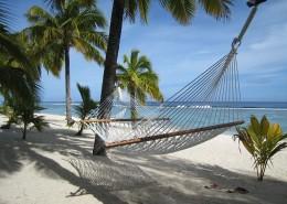 Sunset Resort Cook Islands - Beach Hammock