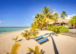Tamanu Beach Cook Islands - Beachfront