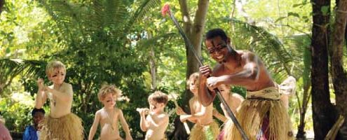Treasure Island Resort, Fiji - Kids Club Meke Warrior Dance