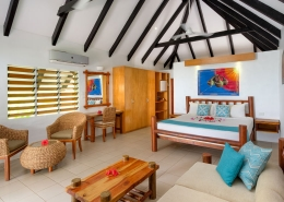 Tropica Island Resort Fiji - Beachfront Bure Interior