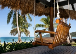 Tropica Island Resort Fiji - Beachfront Bure Swing Chair