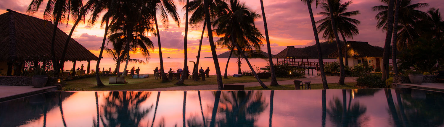 Tropica Island Resort Fiji - Sunset Bar
