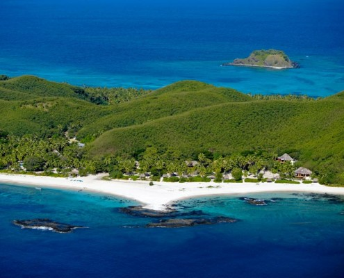 Yasawa Island Resort, Fiji - Aerial View
