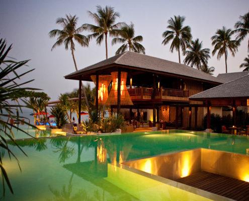Anantara Rasanando Kho Phangan Villas Thailand - Restaurant