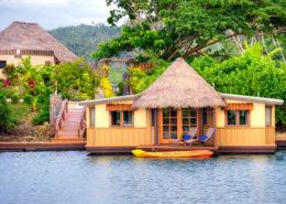Koro Sun Resort & Rainforest Spa, Fiji - Floating Bures