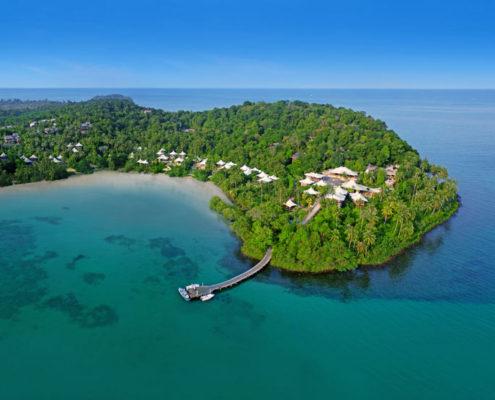 Soneva Kiri Koh Kood, Thailand - Aerial View