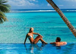 Little Polynesian Resort, Cook Islands - Couple