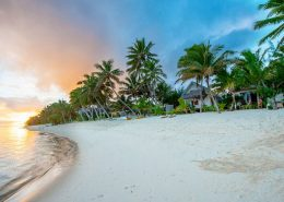 Muri Beach Club Hotel, Cook Islands - Sunset