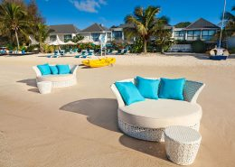 Muri Beach Club Hotel, Cook Islands - Lagoon Sun Loungers