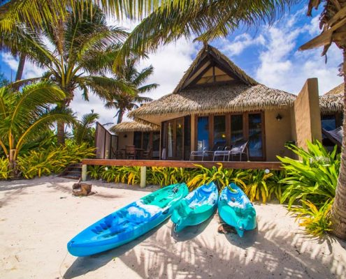 Rumours Luxury Villas & Spa, Cook Islands - Beachfront Villa Exterior