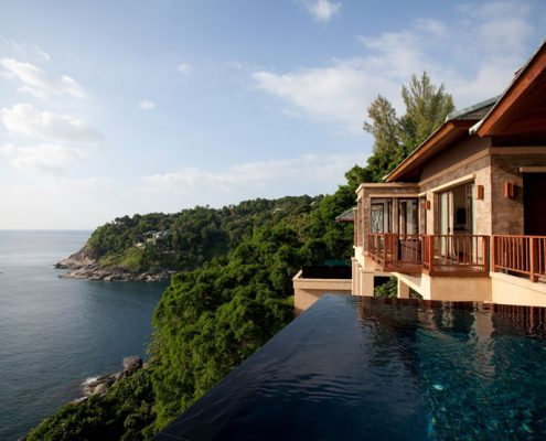 Paresa Phuket Luxury Villa, Thailand - Cliff Pool Villa