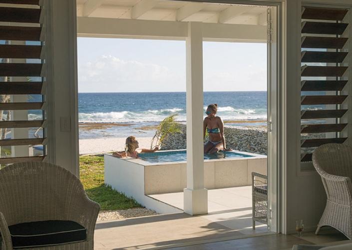 Vanuatu Resorts - Tamanu on the Beach - Plunge Pool Villa