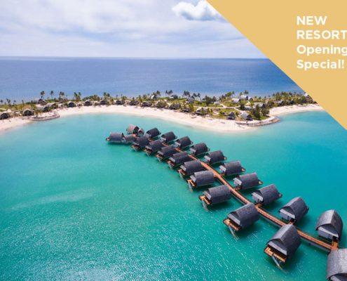 Fiji Marriott Momi Bay Opening Special - Overwater Bungalows