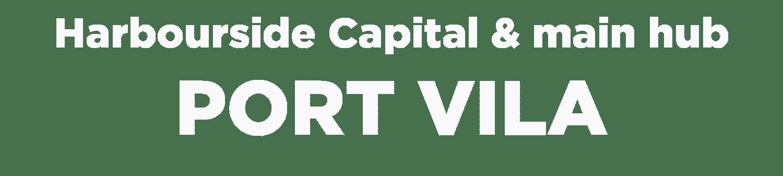 Harbourside Capital and Main Hub of Vanuatu