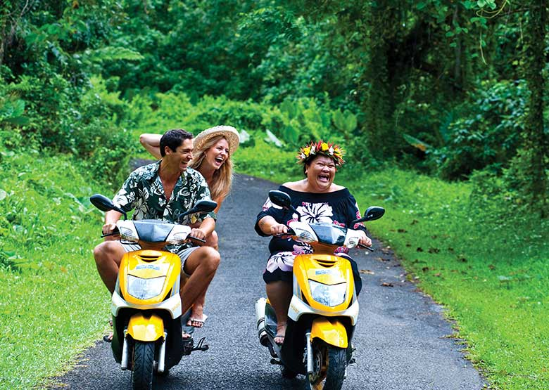 Rarotonga Scooter Fun - Cook Islands - Island Escapes