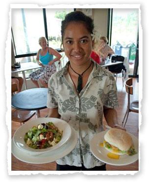 Koru Cafe - Aitutaki