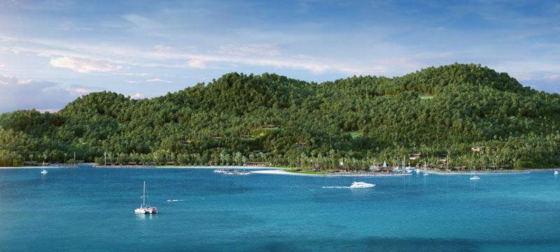 Beach Expanse View - Six Senses Fiji