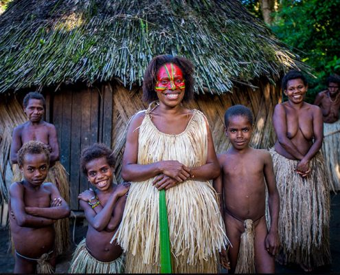 Kustom Village - Tanna - Vanuatu - David Kirkland Photography