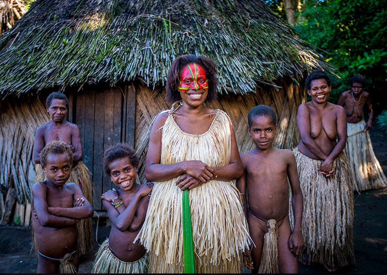 Kustom Village - Tanna - Vanuatu - David Kirkland Photography