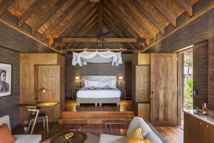 One Bedroom Villa Interior - Six Senses Fiji