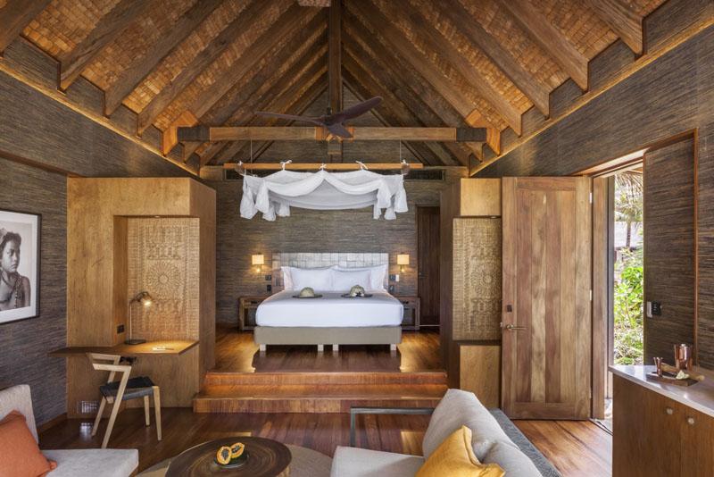 One Bedroom Villa Interior - Six Senses Fiji