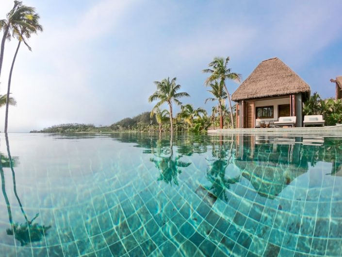 Residence Pool and Pool House - Six Senses Fiji