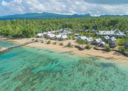 Saletoga Sands Resort & Spa, Samoa - Aerial View