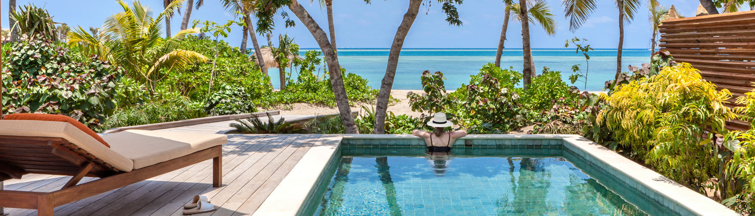 Six Senses Fiji - Ocean View From Beachfront Pool Villa