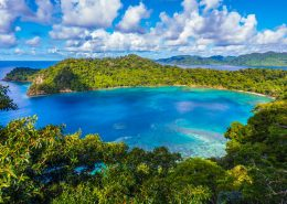 Matangi Private Island Resort, Fiji - Horseshoe Bay Lookout