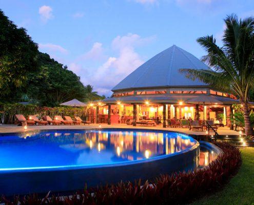 Matangi Private Island Resort, Fiji - Resort Pool