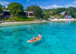 The Havannah, Vanuatu - Kayaking
