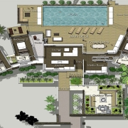The BeacHouse Vomo - Floor Plan - Luxury Fiji Holiday Home
