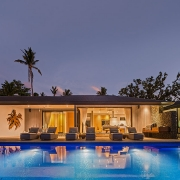 The BeacHouse Vomo - Expansive View of Front - Fiji Luxury Holiday Home
