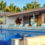 The BeacHouse Vomo - External Pool - Luxury Fiji Holiday Home