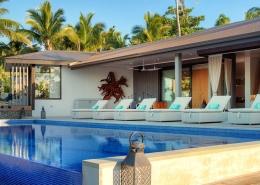 The BeacHouse Vomo - External Pool - Luxury Fiji Holiday Home