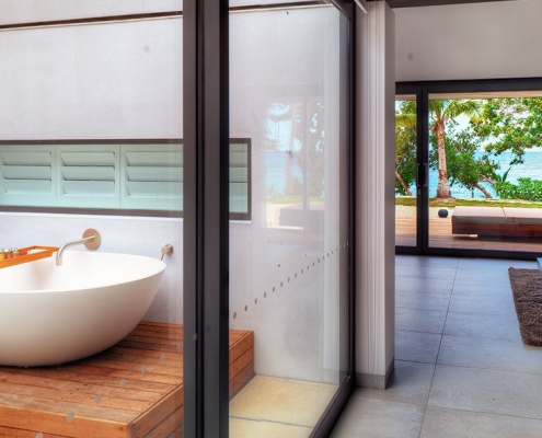 The Palms Vomo - Bathroom - Fiji Luxury Holiday Homes