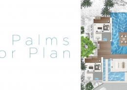 The Palms Vomo - Floor Plan - Fiji Luxury Holiday Homes