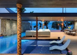 The Palms Vomo - Pool - Fiji Luxury Holiday Homes