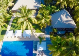 The Residence Vomo - Aerial2 - Luxury Fiji Holiday Home